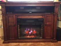 Entertainment Center/Electric Fireplace in Fort Rucker, Alabama