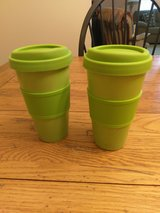 Set of Eco Ceramic Travel Mugs with Silicone Lids in Beaufort, South Carolina