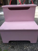 Pink stool in Houston, Texas