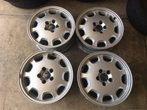 set of OEM Volvo rims 16 inch in Glendale Heights, Illinois