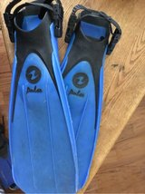 Aqua Lung Fins Large in Fort Campbell, Kentucky
