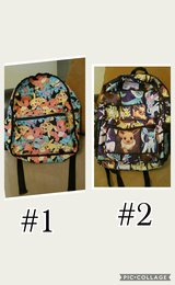 pokemon book bags in Fort Leonard Wood, Missouri