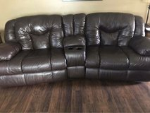 Manual reclining couch (chair and half) in Fort Lewis, Washington