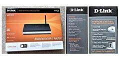 D-Link Rangebooster G Router in Beaufort, South Carolina
