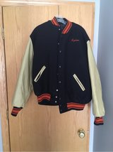 xl Oswego letterman jacket. Reduced again in Naperville, Illinois