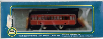 HO Scale  A.H.M. Trolley Painted as D.P.T.C. (no number) in Joliet, Illinois