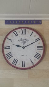 French-themed Clock in Naperville, Illinois