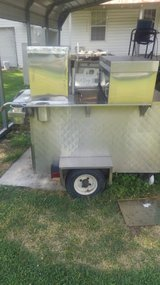 Hot dog cart in Camp Lejeune, North Carolina