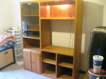 beautiful all wood entertainment center in Clarksville, Tennessee