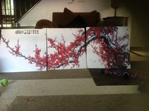 3 piece cherry blossom picture new bought in Japan in Lemoore NAS, California