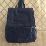 Women elegant leather backpack by Wilson Leather in 29 Palms, California