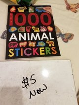 1,000 animal stickers book in Travis AFB, California