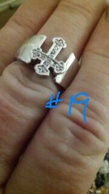 RHINESTONE CROSS RING, NEW in Baytown, Texas