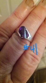 PURPLE STONE RING,NEW in Baytown, Texas