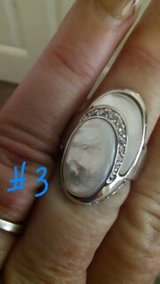 MOTHER OF PEARL RING,SZS 7-10 in Bellaire, Texas