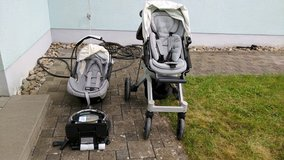 Orbit Baby G2 Stroller with base, stroller, car seat - very clean. in Ramstein, Germany