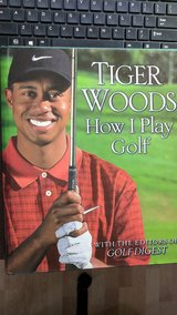 """Tiger Woods """"How I Play Golf"""" Book - Excellent Condition in Ramstein, Germany"""