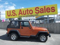 2002 JEEP WRANGLER in Okinawa, Japan