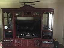 Japanese Handcrafted Entertainment Center in Tyndall AFB, Florida