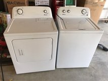 Amana Washer and Dryer in Temecula, California