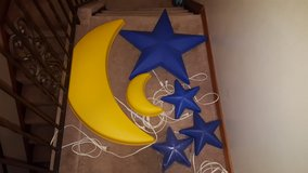 Ikea moon and star wall lamp/light small in Aurora, Illinois