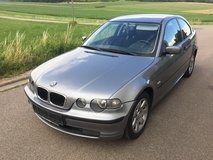 BMW 316 ti compact 2003 ac new Inspection!! Nice Car ! free delivery in Hohenfels, Germany