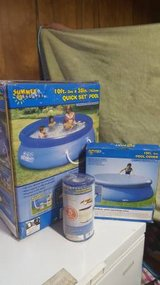 10×30 quick set swimming pool new in Aurora, Illinois