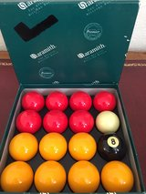 ARAMITH PREMIER POOL BALLS in Lakenheath, UK