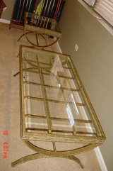 1 Glass Top Coffee Table, Strong yet light weight in Plainfield, Illinois