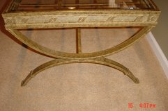 1 Glass Top Coffee Table, Strong yet light weight in Wheaton, Illinois