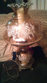 lamp from astate sale in Lawton, Oklahoma