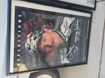 Dale Earnhardt poster in Yucca Valley, California