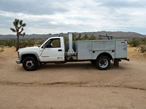 2002 Chevrolet 3500 HD (1 Ton Dually) Service Truck, 8.1 Liter V8, Allison Automatic W/Powe... in Yucca Valley, California