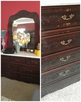 REDUCED!!Mahogany Chest and Dresser Set in Byron, Georgia