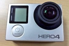 GoPro Hero 4 Silver (built in touchscreen!)  w/Accessories in Belleville, Illinois