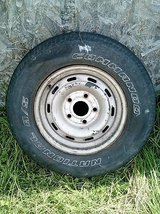 Dodge Ram Tire on Rim & inflated. READY TO GO. 235x75xR16 in Camp Lejeune, North Carolina