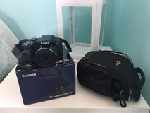 Canon camera with box and bag in Vista, California