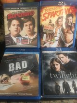 BLUE-RAY DVD MOVIES in Spring, Texas