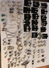 STERLING SILVER EARRINGS AND MORE in Sandwich, Illinois