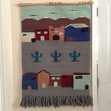 Peruvian wall hanging in Yucca Valley, California