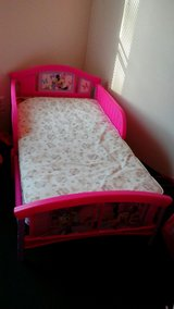Minnie mouse bed & mattress in Conroe, Texas