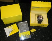 Mens INVICTA Lupah Revolution Chronograph Brown / Black Wrist Watch in Kingwood, Texas