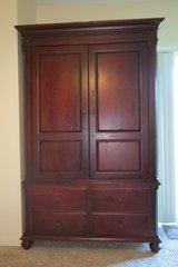 Solid Red Oak Armoire in Buckley AFB, Colorado
