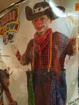 Child's Clown Costume - All of it's there & remember- October is NEXT month in Hopkinsville, Kentucky