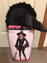 Costume- Child M 8-10 w/ broom and hat in Colorado Springs, Colorado