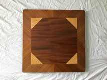 Art Deco Inlaid Wood Folding Table in Tinley Park, Illinois