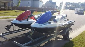 Pair of Kawasaki Jet Skis in Camp Lejeune, North Carolina