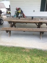 Picnic table in Camp Lejeune, North Carolina