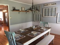 Farm table in Beaufort, South Carolina