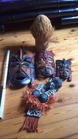 African masks Fore all in Ramstein, Germany